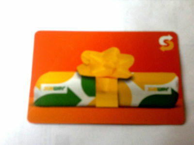 """SUBWAY GIFT CARD """" holiday"""" NO VALUE NEW! RECHARGEABLE"""