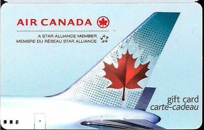 AIR CANADA COLLECTIBLE Gift Card New No Value RECHARGEABLE !