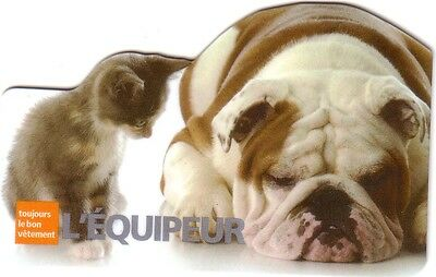 L, EQUIPEUR Limited Ed COLLECTIBLE Gift Card New No Value BILINGUAL