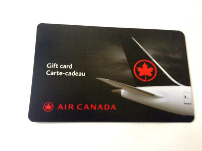 AIR CANADA NIGHT TIME IN SKY 2019 Gift Card New No Value BILINGUAL