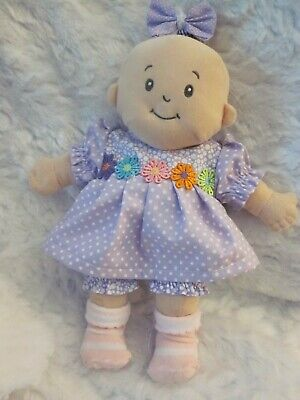 Baby Stella doll clothes/15 inch/handmade dress/bloomers/hair bow
