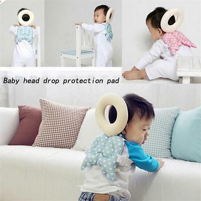Baby Toddler Walking Safety Head Back Protection Pad Cushion Pillow Harness SI