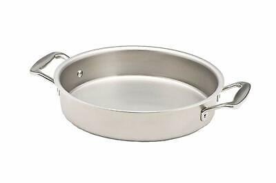"""New 360 Cookware 9"""" Round Stainless Steel Cake Pan"""