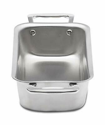 New 360 Cookware Stainless Steel Loaf Pan