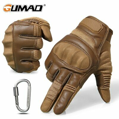 Touch Screen Hard Knuckle Tactical Gloves Army Military Combat Airsoft Outdoor