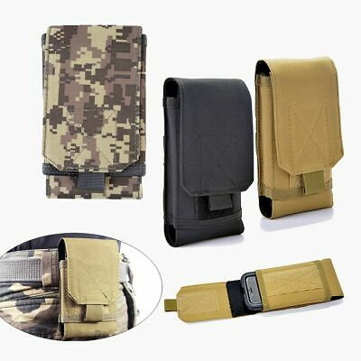 Mobile Phone Credit Card Holder Pouch Stick Waist Belt Bag Nylon Phone Pouch