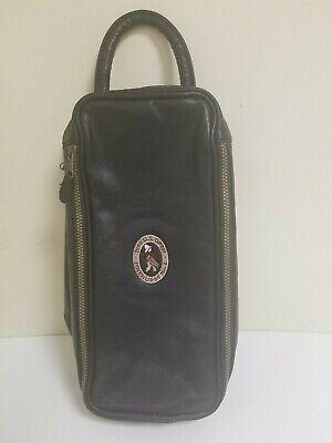 U.S OPEN 1999 Pinehurst No. 2 Double-Sided Caddy Golf mens Faux Leather Bag Rare