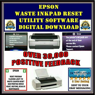 Epson Waste Ink Pad Reset Key