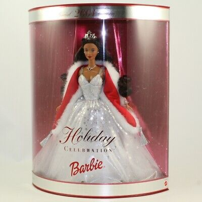 Mattel - Barbie Doll - 2001 Special Edition Holiday Celebration AA *NM BOX*