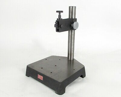 Starrett No. 653 Comparator Stand With Cast Iron Base