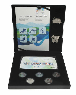 Sealed Canada Vancouver 2010 Silver Collector's Set Royal Canadian Mint