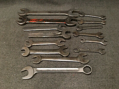 Mixed Lot 14 Wrenches - Herbrand 1226, Bonney, Billings & Spencer 1009 & 1109