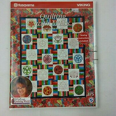 Husqvarna Viking Embroidery Design Quilting CD + Floppy Disk 175 412888501 B11