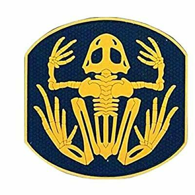 Morton Home Skull and Swords PVC IFF Hook and Loop Patch