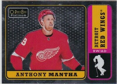 18-19 2018-19 OPC Platinum Anthony Mantha RETRO INSERT #R-23 Red Wings