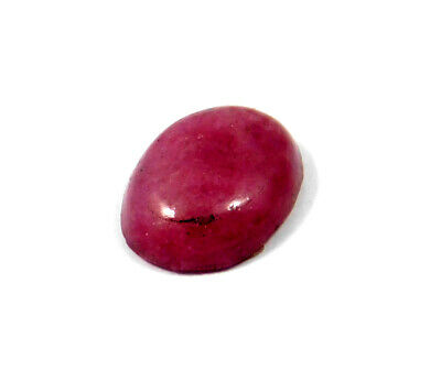 5 Cts. 100% Natural Ring Size Ruby Loose Cabochon Gemstone RRM19040