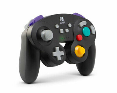 Wireless Controller for Nintendo Switch GameCube Style Black PowerA