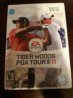 Tiger Woods PGA Tour 11 (Nintendo Wii, 2010)