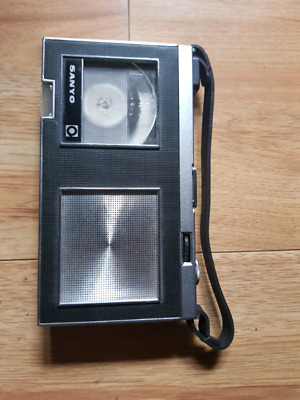 vintage Sanyo Micro-Pack 35 tape recorder from 1964 Walkman