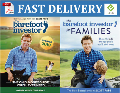 The Barefoot Investor 2019 and The Barefoot Investor for Families (PDF, EPUB)