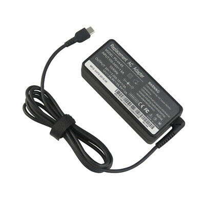 Type-C AC Adapter Charger Power Supply For Lenovo  Laptop Notebook USB-C 65W