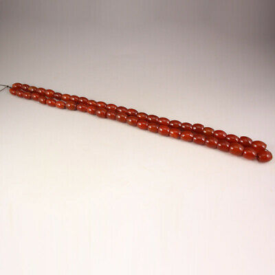 Beautiful Chinese Natural Red Agate Beads Necklace