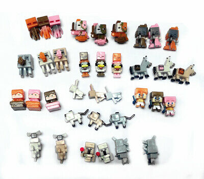 Series 4 Minecraft 36pcs/lot Figure Characters Action Figures Child Toys