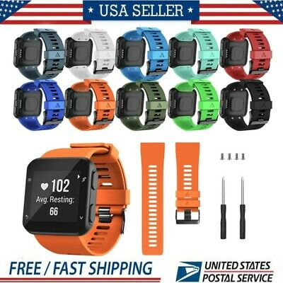 Use For Garmin Forerunner 35 Watch Replacement Silicone Wrist Watch Band Belt US