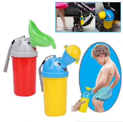 Toilet Travel Kids Urinal Pee Portable Car Toddler Boys Girl Baby Potty Training