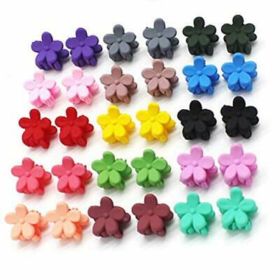 30pcs/lot Hair Mini Claw Clips Flower Clamp For Girl Baby Kids Hair Accessories