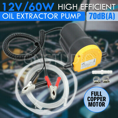 Electric 12V Oil Extractor Pump Diesel Transfer Fuel Suction for Car Boat Engine