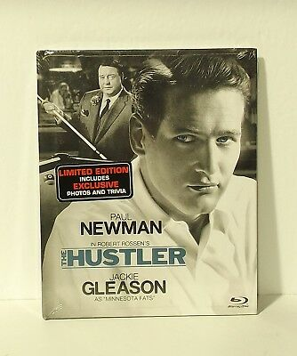 The Hustler DIGIBOOK blu-ray Paul Newman NEW & SEALED AUTHENTIC REGION A