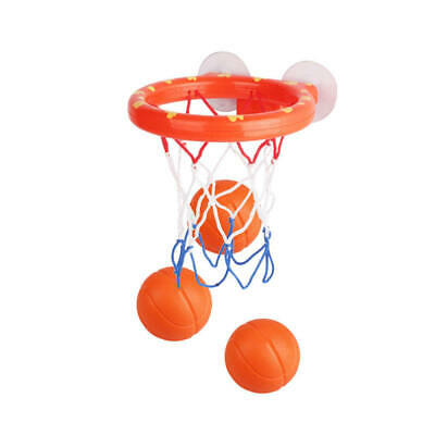 1 Set Bath Toy Basketball Hoop Suction Cup Mini Gift for Baby Kids Toddl EMZ
