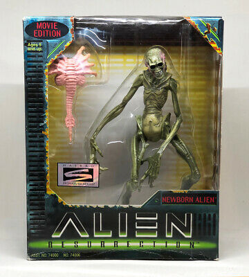 "ALIEN RESURRECTION NEWBORN ALIEN 7"" Action Figure Movie Edition 1997"