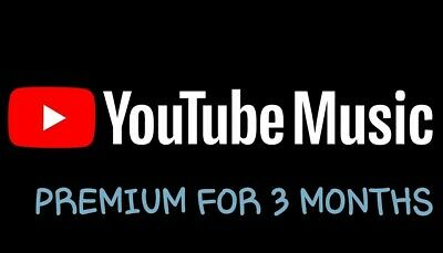 Youtube Music And Google Play Music For 3 Months ♡♡♡Enjoy The Good Music♡♡♡