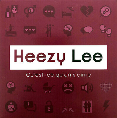 Heezy Lee CD Single Qu'est-ce qu'on s'aime - Promo - France (EX+/M)