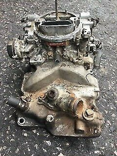 CHEVY INTAKE MANIFOLD GM 305 350 2 BARREL SMALL BLOCK , With