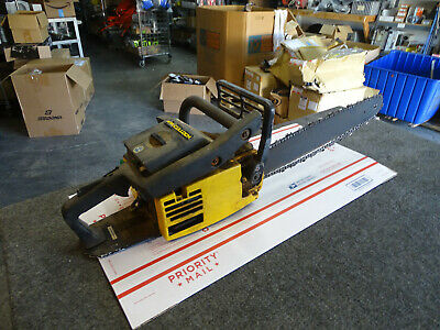 MCCULLOCH PRO MAC 610 Chain saw with Bar For Parts Or Repair