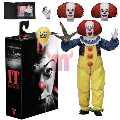 """NECA IT 1990 Pennywise Clown Version2 Ultimate 7"""" Action Figure 1:12 Scale 2019"""