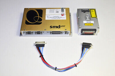 Laser Quantum Ignis 404mW 660nm Laser & SMD6000 Controller Fully Tested! 5032hrs