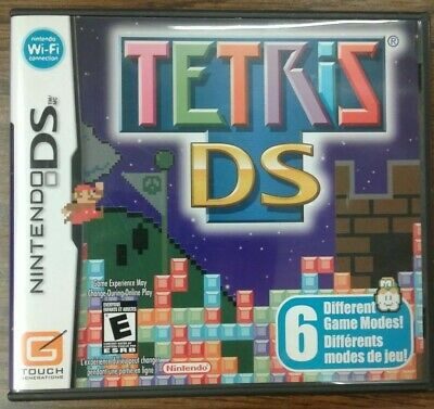 Tetris DS (Nintendo DS, 2006) 6 Different Game Modes!