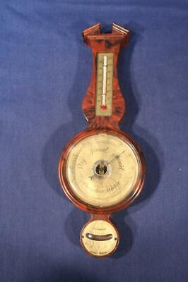 Vintage Springfield Instruments Banjo Type Weather Station -Temperature Humidity
