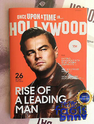 Once Upon A Time In Hollywood Quentin Tarantino Film Premiere Magazine PROMO NEW