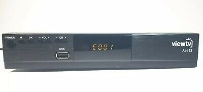 Digital TV Receiver, DVR Recorder For Broadcast Channels HD 1080p ViewTV at-163