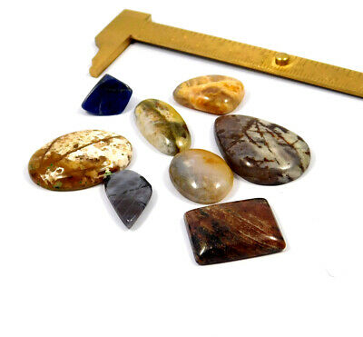 105 Cts. 100% Natural Lot Of Mix Stone Loose Cabochon Gemstone NG21136