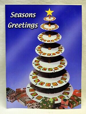 View-Master/Mattel 1999 Employee Christmas Card With 3 View-Master Reels RARE!!
