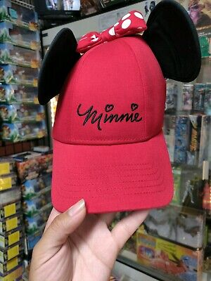 1a4f5563c DISNEY MINNIE MOUSE Baseball with Ears Rose Gold Women's Hat Cap ...