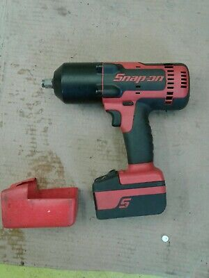 Snap on 18v cordless impact wrench 2 batteries and charger