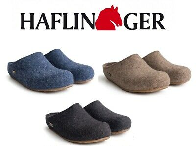 HAFLINGER® Felt Slipper Clogs Grizzly Michel All Size/Color from Germany 711033