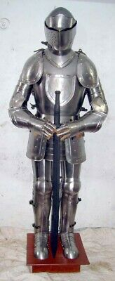 Medieval Knight Wearable Suit Of Armor Crusader Combat Full Body Armour AR15